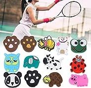 Racket Vibration Dampeners, Practical 13Pcs Silicone Portable Lightweight Tennis Racket Dampeners for Backyard