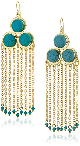 Panacea Turquoise Chandelier Earrings
