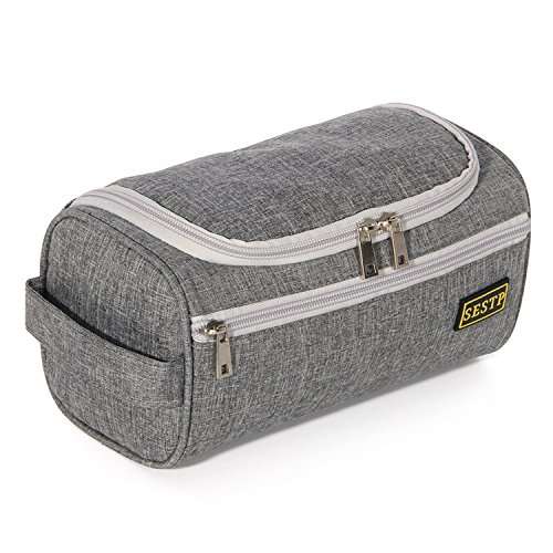 Travel toiletry bag hanging hook cosmetic organizers bag for travel and gym Personal Items