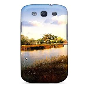 Ideal MeSusges Case Cover For Galaxy S3(japan Digital Scenery), Protective Stylish Case wangjiang maoyi