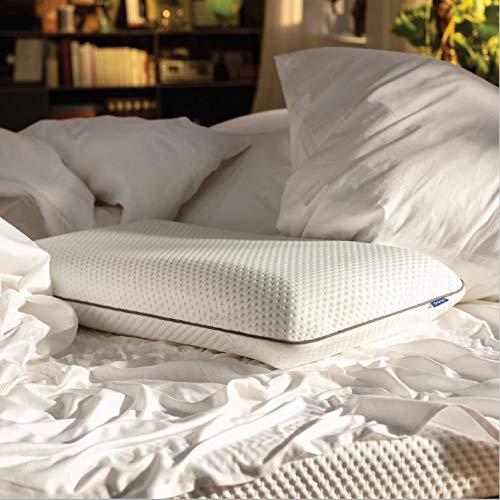 Emma Almohada 70x40 cm Almohada-Visco (Memory Foam), Altura Ajustable, Cubierta Lavable: Amazon.es: Hogar