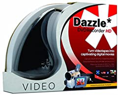 Easily share and save your home videos from film and older video sources with the Dazzle DVD Recorder HD VHS to DVD Converter. Preserve and protect your treasured home video memories by transferring them to DVD and other digital formats. Capt...