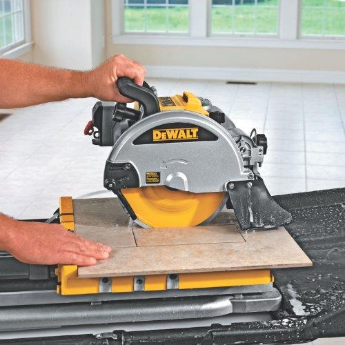 028877414294 - DEWALT D24000 1.5-Horsepower 10-Inch Wet Tile Saw carousel main 6