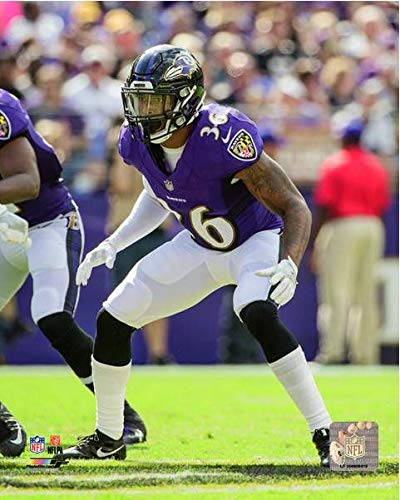 newest collection 89050 83dfc Amazon.com: Chuck Clark Baltimore Ravens Action Photo (Size ...