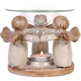 Something Different Angel Ring Oil Burner (4.3 x 4.6 x 4.6 in) (Multicoloured)