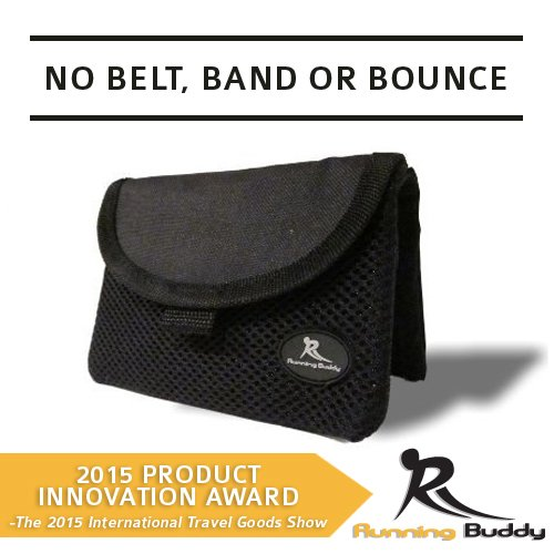 Running Buddy [Highly Rated XL Buddy Pouch - Black by Running Buddy (Image #5)