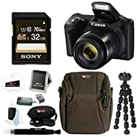 Canon PowerShot SX420 IS 20 MP Digital Camera w/ Sony 32GB SD Card & Accessory Bundle Key Pieces Review Image