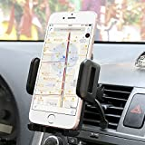 Car mount,Sgrice Air Vent Car Phone Mount Holder Cradle for iPhone 7 Plus/ 6s Plus/6s, Samsung Galaxy S7/S6 Edge and Other Cell Phone Smartphone