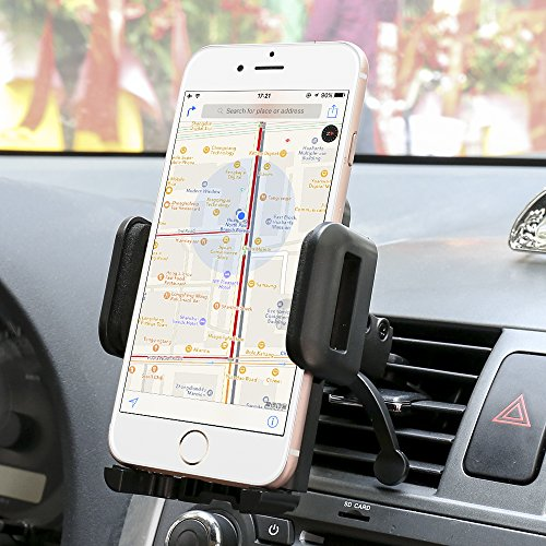 Car Mount,Sgrice Air Vent Car Phone Mount Holder Cradle for iphone x iPhone 8/8 Plus 7/7 Plus/ 6s Plus/6s, Samsung Galaxy S8/S7 Edge and Other Smartphones