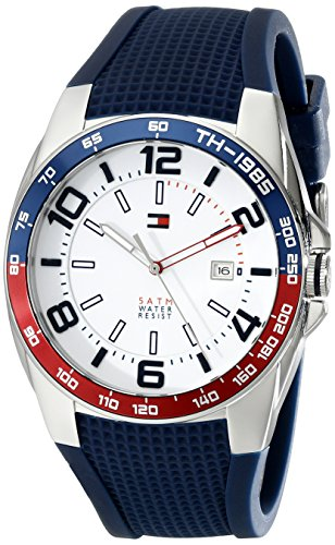 tommy-hilfiger-mens-1790885-stainless-steel-watch-with-blue-silicone-band