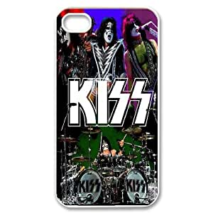 [bestdisigncase] For Iphone 4 4S-POP Kiss Music Band PHONE CASE 12
