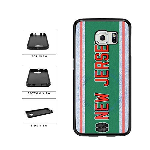 Bleureign Tm  Hockey Team Hashtag New Jersey  Newjersey Tpu Rubber Silicone Phone Case Back Cover For Samsung Galaxy S7 Edge