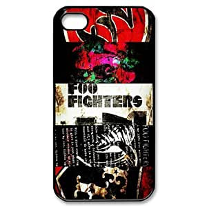 Creative Design Life Music Band 4 Foo Fighters Fashion Cover Hard Plastic Case For iPhone 4/4S