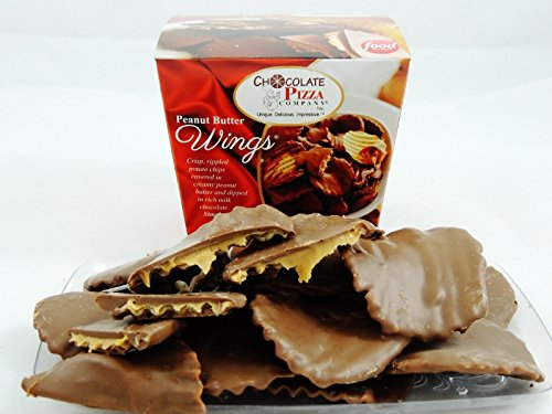 Peanut Butter Wings® (1 pound) - made in America Dipped Peanut Butter Cookies