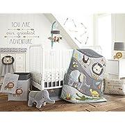 Levtex Home Baby Zambezi 5 Piece Crib Bedding Set, Grey