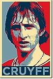 Yohann Cruyff Art Print 'Hope' - 12x8 High Quality Photographic Poster - Unique Art Gift - Football Soccer Johan