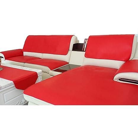 L&WB Sólido sofá Cubierta máquina Lavable Impermeable estacional Antiadherente Pelo Antideslizante Resistente a Las Manchas para