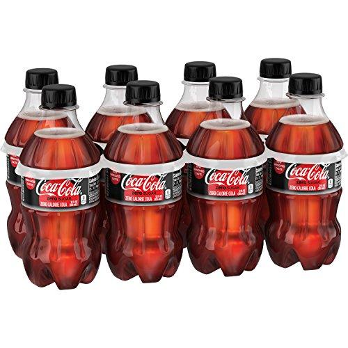Coca-Cola Zero Sugar, 12 fl oz, 8 Pack (Sugar Diet Soda)