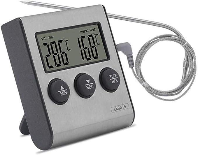 Compra <keine Marke> Pantalla termómetro bimetálico Digital ...