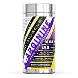 Amazing Muscle L-Arginine 1000mg Supplement - Best Amino Acid Arginine HCL Supplements for Women & Man - Promotes Circulation and Supports Cardiovascular Health - 120 Tablets