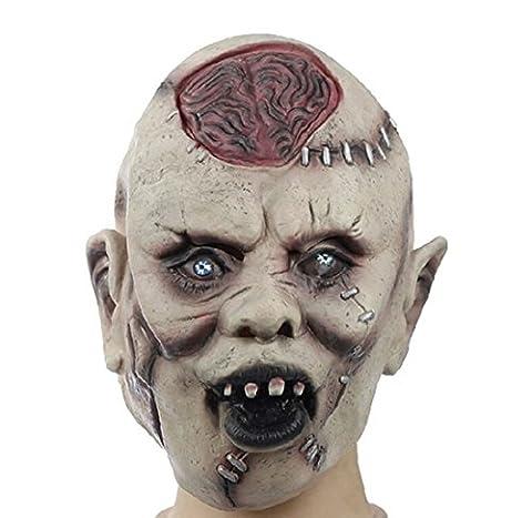 Halloween Mask Mascaras Halloween Latex Scary Mask Helloween Cosplay (Cherub Mask)