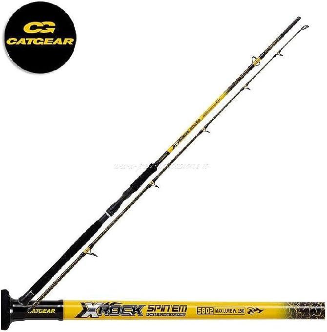 Catgear XRock Spin´em 2.70 m 200 g Cañas de Spinning Pesca Rio ...