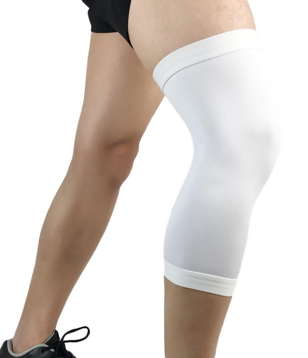 sports knee pads basketball breathable compression tights outdoor run fitness riding protective supplies m / l / xl (A pair)
