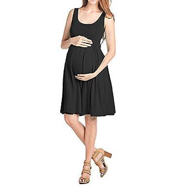 Nat Terry Women Maternity Dresses Formal Knee Length Sleeveless