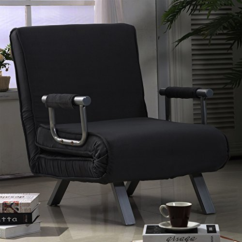 Cu ALightUp Convertible Folding Sleeper Chair Gaming Chair Studio Guest Foam Sofa, Couch Foldabl ...
