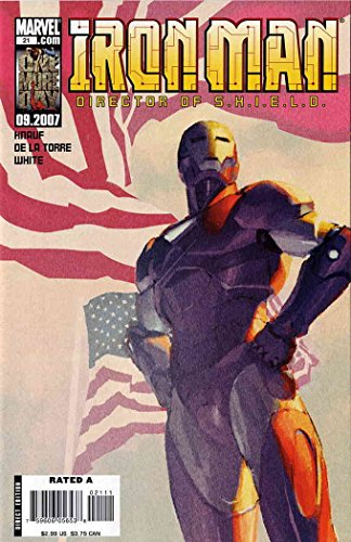 Iron Man (4th Series) #21 VF/NM ; Marvel comic book - Cervantes Series