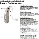 Siemens Signia 2017 Latest  Behind The Ear Lotus Fun P 6 Channel Digital Hearing Aid (Beige)