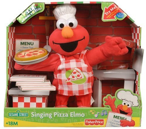 Fisher-Price Sesame Street Singing Pizza Elmo from Fisher-Price