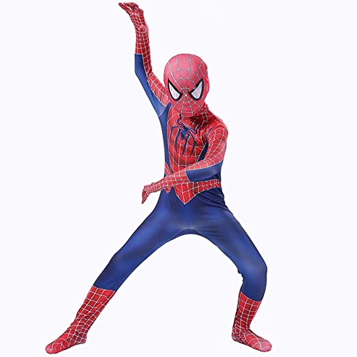 AKCHIUY Traje Spiderman Niño,Halloween Superhéroe Adultos Traje ...