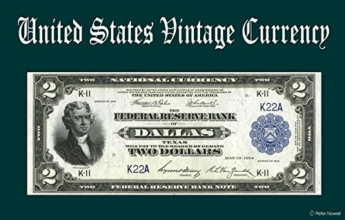 Banknote Reserve Federal (Computer Desktop Mouse Pad Vintage Old U.S. Currency Art 2 Two Dollar 1914 Federal Reserve Bank Note of Dallas, TX)