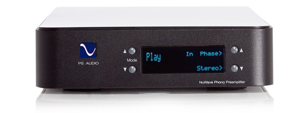 PS Audio NuWave Phono Converter - High End Phono Preamplifier and Analog to Digital Converter (Black)