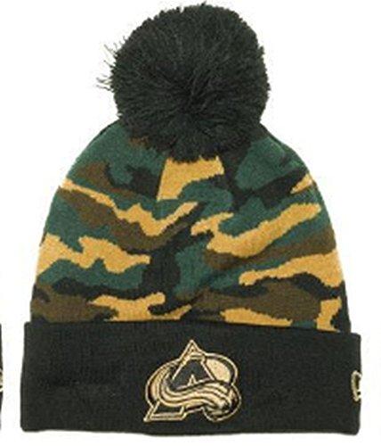 New Colorado Avalanche Nhl Cap (New Era NHL Colorado Avalanche Camo Captivate Beanie)