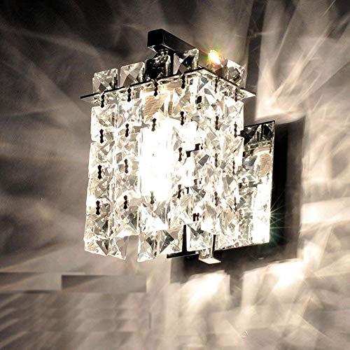 Jorunhe Modern Crystal LED Wall Lights Aisle/Bedside/Bar Lights Wall Sconce
