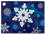 Winter Wonderland Theme Gift Cards3-3/4x2-3/4'' (30 unit, 6 pack per unit.)