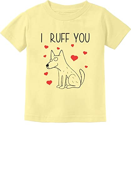 7e190f760 Amazon.com  I Ruff You - Cute Valentine s Gift for Dog Lovers ...