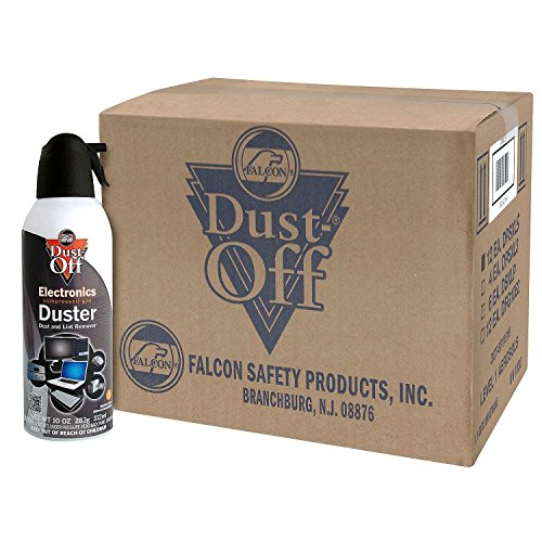 Dust-Off Disposable Compressed Gas Duster, 10 oz Cans, 6 Pack by Dust-Off (Image #4)