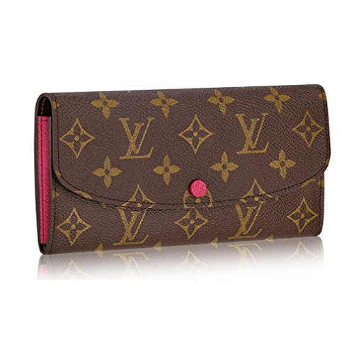 Louis Vuitton Pocket (Louis Vuitton Monogram Canvas Monogram Canvas Emilie Wallet Article: M41943)