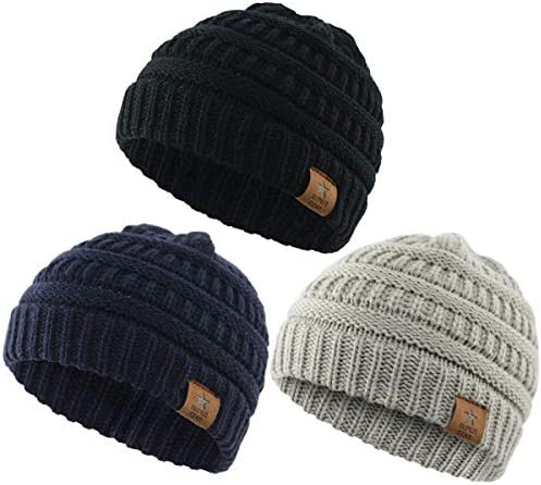 Durio Knitted Chunky Toddler Beanies product image