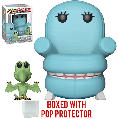 Funko Pop! Pee-Wee's Playhouse - Chairry with Pterri Vinyl Figure (Bundled with Pop Box Protector Case) ()