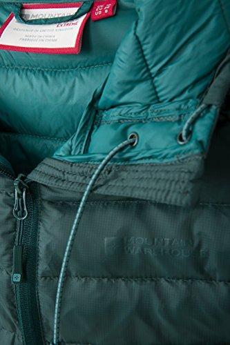 Horizon All'acqua Ripstop Warehouse Cappotto A Verde Donna Invernale Idrorepellente Scuro Womens Resistente Freddo Da Down Jacket Ideale Mountain Per Campeggio Tempo Giacca qSwFAvwx