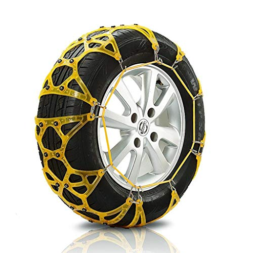 Car Snow Chain car SUV Snow Emergency tire Snow Chains Easy to Install (Size : 25560R19)