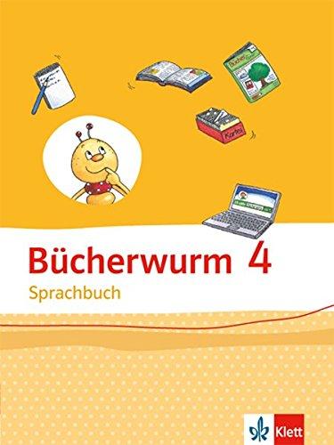 Bücherwurm Sprachbuch / Schülerbuch 4. Schuljahr. Allgemeine Ausgabe