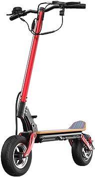 Amazon.com: LYXQQ Mini Scooter Eléctrico, 48V Bicicleta ...