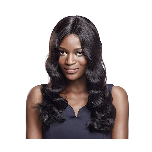 Sleek 22 Middle Part Body Wave Wigs With 100 Brazilian Hair Long