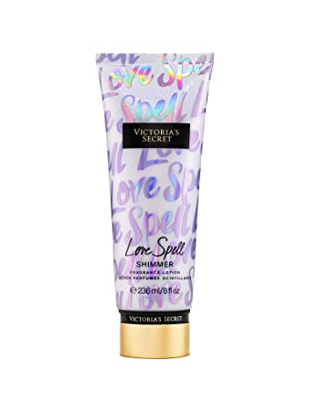 1b5481e38b Image Unavailable. Image not available for. Color  Victoria s Secret Love  Spell Shimmer Fragrance Lotion ...