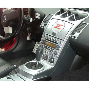 Amazon Nissan 350z 350 Z 350 Z Z33 Interior Silver Aluminum